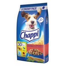 Briketi Chappi z govedino, perutnino in zelenjavo, primerni za odrasle pse 9kg