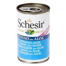 Schesir kitten tuna z aloe vero v želatini 140 g