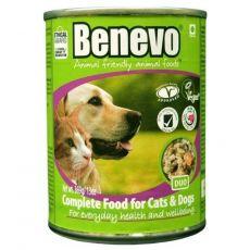 Benevo Duo celovita hrana za mačke in pse 369 g