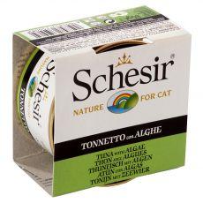 Schesir cat tuna in morske alge v želatini 85 g