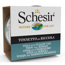 Schesir cat tuna in rumenorepka v želatini 85 g