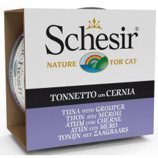 Schesir cat tuna in kirnja v želatini 85 g