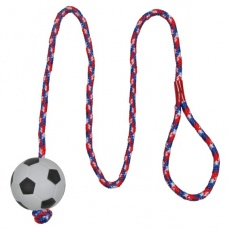 Igrača za psa - 6 cm žoga na vrvici