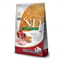 Farmina N&D dog LG SENIOR MEDIUM & MAXI Chicken & Pomegranate 2,5 kg