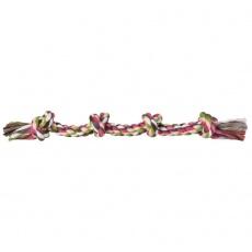 Igrača za psa - bombažna vrv z vozlom - 54 cm