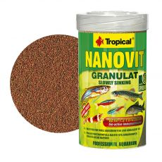TROPICAL Nanovit granulate 100 ml / 70 g