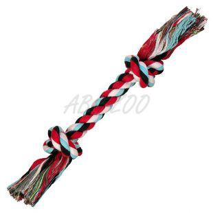 Igrača za pse - bombažna vrv z vozlom- 26 cm