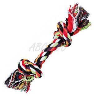 Igrača za psa - bombažna vrv z vozlom - 20 cm