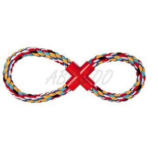 Bombažna vrv v obliki osmice za pse - 35cm