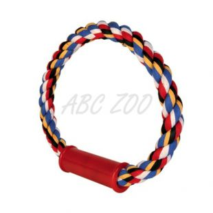 Bombažna vrv v obliki obroča za pse - 30cm