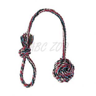 Bombažna žoga na vrvici - 5,5cm