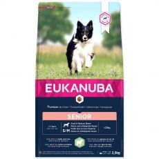 EUKANUBA Senior Small & Medium Breed Lamb 2,5 kg