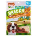 Priboljški Nylabone Edible Snacks Puppy puran in sladki krompir S 12 kosov
