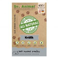 Dr.Animal 100% zajčje rezine 80 g