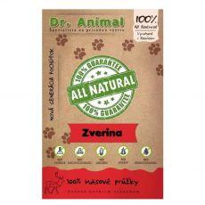 Dr.Animal 100% divjačinske rezine 80 g