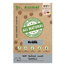 Dr.Animal kocke iz 100% zajčjega mesa 80 g