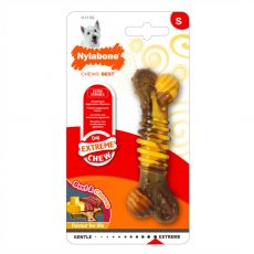 Nylabone Extreme Chew Texture Bone Steak & Cheese S