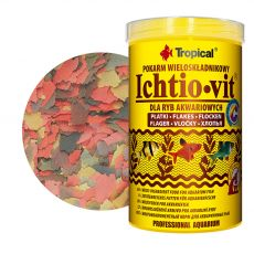 TROPICAL Ichtio-vit 100ml/20g - večkomponentna hrana