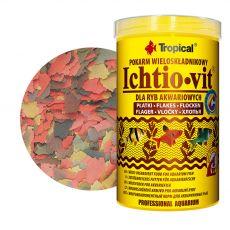 TROPICAL Ichtio-vit 1000 ml / 200 g - večkomponentna hrana