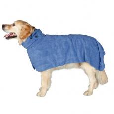 Plašč za pse, modre barve – 50 cm