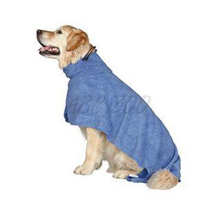 Plašč za pse, modre barve – 40 cm