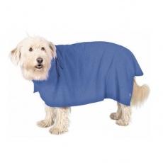 Plašč za pse, modre barve – 30 cm