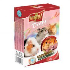 Priboljški za glodavce VITAPOL Dropsy multi-mix 75 g