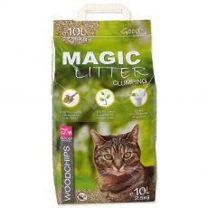 Magic Cat Litter Woodchips 10 l / 4,3 kg