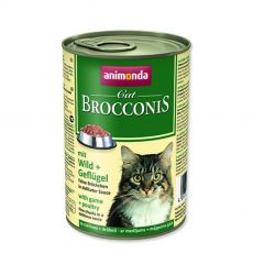 Animonda Cat BROCCONIS divjačina in perutnina 400 g