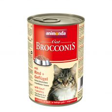 Animonda Cat BROCCONIS govedina in perutnina 400 g