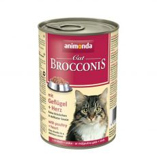 Animonda Cat BROCCONIS perutnina in srca 400 g
