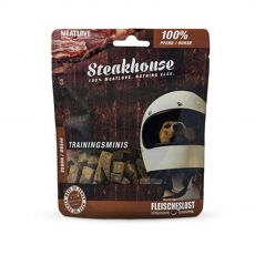Priboljški Meat Love Steakhouse Mini 100% konjsko meso 100 g