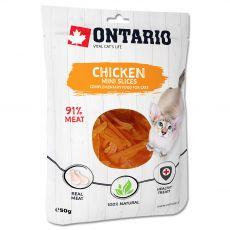 Ontario Cat mini piščančje rezine 50 g