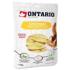 Ontario Cat fileji iz kuhanih piščančjih prsi 70 g