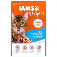Iams Cat wild tuna & herring 85 g