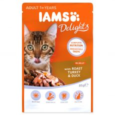 Iams Cat roast turkey & duck 85 g