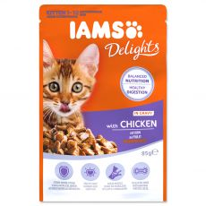 Iams Kitten chicken 85 g