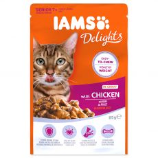 Iams Senior Cat chicken 85 g