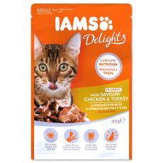 Iams Cat chicken & turkey 85 g