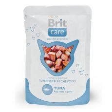 Hrana v vrečki Brit Care Cat Tuna 80 g