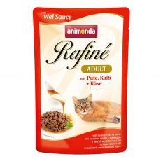 Animonda Rafiné Cat puran, teletina in sir 100 g