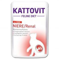 Hrana v vrečki Kattovit Niere / Renal kidney govedina 85 g
