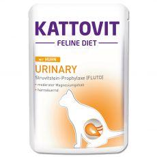 Hrana v vrečki Kattovit Urinary piščanec 85 g
