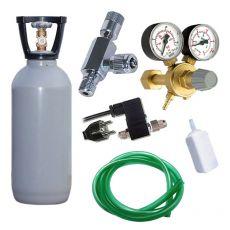 Komplet CO2 Professional 2 kg z elektromagnetnim ventilom