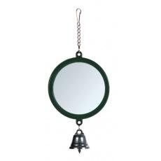 Ogledalo z zvončkom za ptice, 7 cm