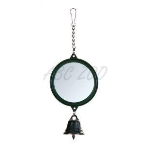 Ogledalo z zvončkom za ptice, 5,5 cm