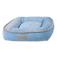 Postelja za psa, modra - 50 × 50 cm