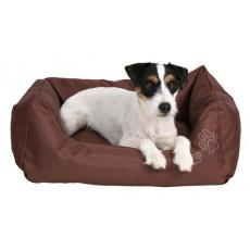 Postelja za psa - rjava, 75 x 65 cm