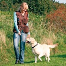 Brezrokavnik Dog activity, za trening psa - rjav, L