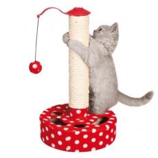 Praskalnik za mačke z igračko